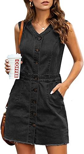 Amazon: Women's Sleeveless Denim Dress for $13.99 – $23.09 (Reg. Price $19.99 – $32.99) after code!
