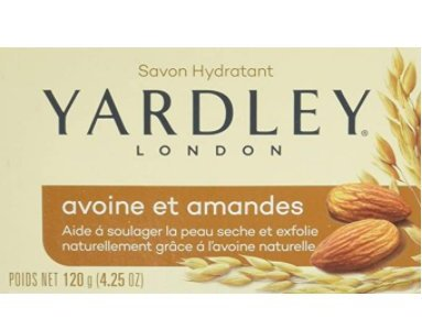 Amazon: Yardley Oatmeal and Almond Bar Soap for $1.00 (Reg. Price $5.99)