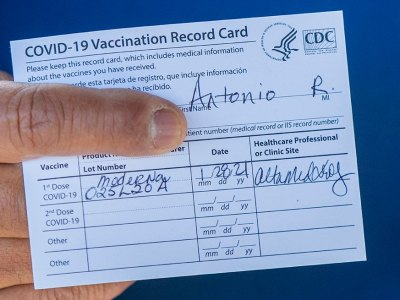Free COVID-19 Vaccination Card Lamination at Office Depot and Staples