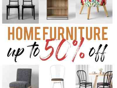 Target: Home Furniture on Sale! Up to 50% off!