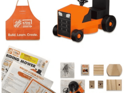 Get Your Free Home Depot Kids Workshop Kits Today (If available)!