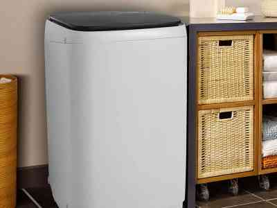 Amazon: 13.5Lbs Capacity Full-Automatic Portable Washer, Just $210.94 (Reg $376.69) after code!