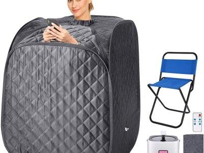 Amazon: 2L Home Steam Sauna Portable Personal Sauna Tent, Just $98-107 (Reg $245--267.5) after code!