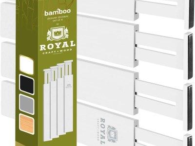 Amazon: Adjustable Bamboo Drawer Dividers Organizers, Just $23.77 (Reg $29.97)