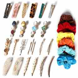 Amazon: 30 pcs Barettes and Hair Clips for Women Fine Hair for ONLY $5.99 W/Code (Reg. $11.99)