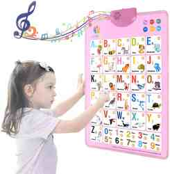 Amazon: Free Electronic Interactive Alphabet Wall Chart just use Promo Code at Checkout (Reg. $22.99)