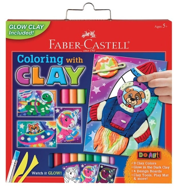 Amazon: Faber-Castell Do Art Coloring with Clay Space Pets for $7.04