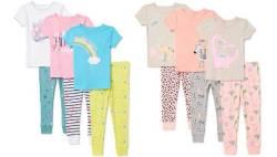 Walmart: Girls 6-Piece Pajama Set JUST $15