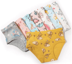 Amazon: Girls' Cotton Assorted Underwears for Toddlers for ONLY $6.23-$13.79 W/Code (Reg. $10.38-$22.99)