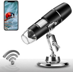 Amazon: Free Handheld Wireless Digital Microscope Camera 8 LED Lights Just use Code (Reg. $45.99)