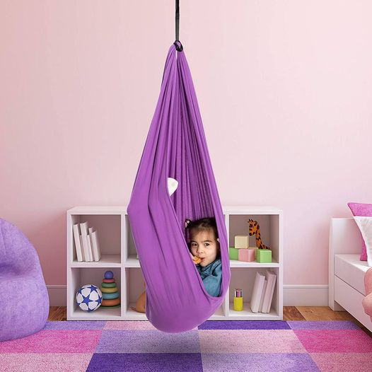 Amazon: Indoor Therapy Swing for Kids Child Hanging Swing, Just $25.65 (Reg $56.99) after code!