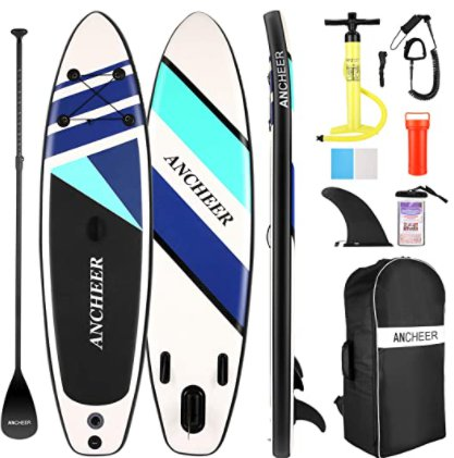 Amazon: Inflatable Stand Up Paddle Board for $245.88 (Reg. Price $491.76) after code!