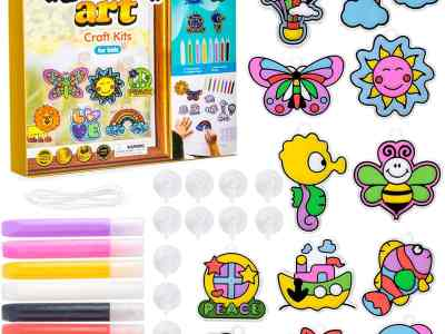 Amazon: NextX Window Art, Suncatcher for Kids Craft Kits, 12 Paintings, Just $5.39 (Reg $26.99) after code and coupon!