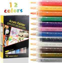 Amazon: Paint Pens 12 Colors for ONLY $4.14 W/Code (Reg. $16.80)