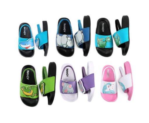 Amazon: Toddler Little Kids Summer Slides Sandals for $11.99-$13.19 (Reg. Price $19.99-$21.99) after code!