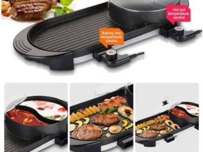 Amazon: Uttiny Portable Electric Grill, Just $89.58 (Reg $149.31) after code!