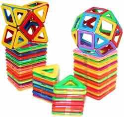 Amazon: Magnetic Building Blocks - Educational Toy Tiles Set $14.99 (Reg. $59.99)