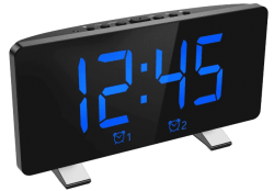 Amazon: Digital Alarm Clock 7.3'' for $3.19 (Reg. $15.99)