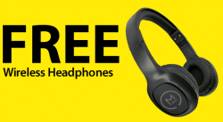 FREE Wireless Headphones at Micro Center