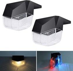 Amazon: Solar Deck Lights Outdoor, 2 Pack $1.99 (Reg. $19.99)