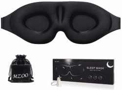 FREE Contoured Cup Sleeping Mask & Blindfold