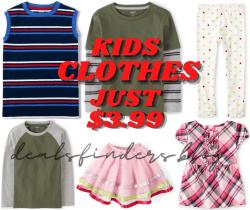 Gymboree: The Orange Sale Kids Clothes for Just $3.99