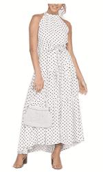 Amazon: Maxi Dresses Sleeveless Halter Neck for $15.49 (Reg. $30.99)