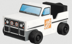 FREE Home Depot Kids Workshop: Build an SUV!