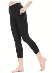 Amazon: Women Yoga Capri Leggings with Pockets for $5.09-$5.69 (Reg. $16.99-$18.99)