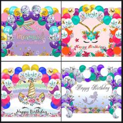 Amazon: RLGPBON Unicorn/Mermaid Birthday Party Supplies $7.69 (Reg. $21.99)