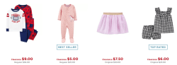 Kohl's: Carter's Clearance, as Low as $1.15