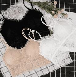 Amazon: Lace Bralette 3-Pack $6.28 (Reg. $13)