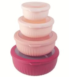 Macy's: Mixing Bowl 8-Piece Set w/ Lids Just $9.99 (Regularly $40)