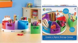 Staples: Learning Resources Create-a-Space Storage Center ONLY $4.75 (Reg. $19)