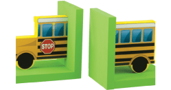 FREE School Bus Bookends Kids Activity Kit at Home Depot in August (Pick Up Yours This Weekend)