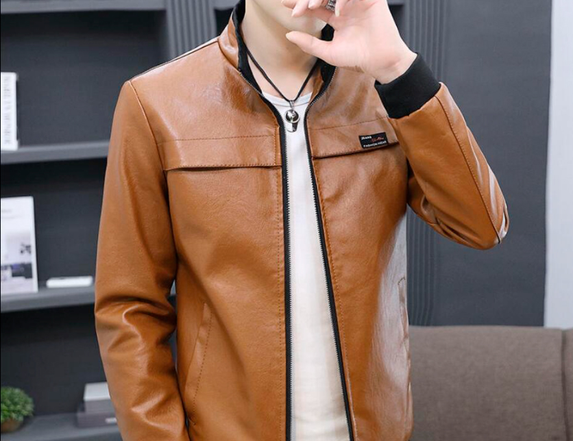The 5 best-selling men's eco-leather jackets in AliExpress