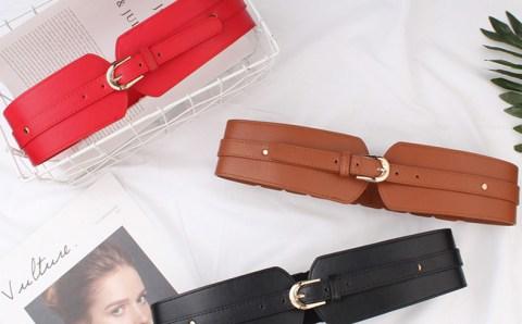 AliExpress Top 5 best-selling women's polyurethane belts