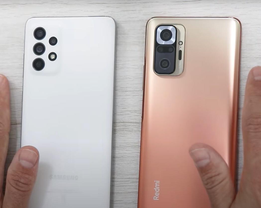 Galaxy A72 vs Redmi Note 10 Pro: Comparative