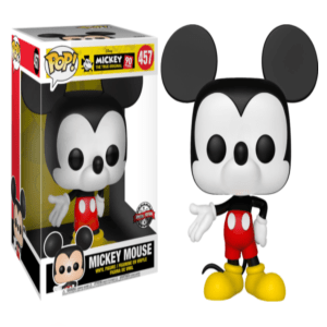 """Mickey Mouse Large Funko Pop Vinyl 10"""" #457 Special Edition"""