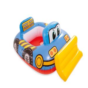 Intex Inflatable Swimming Pool Float Kids Floatation - Blue Bulldozer