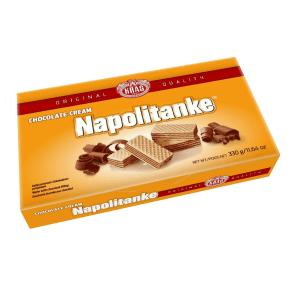 Kras Napolitanke Wafers Biscuits Chocolate Cream 330g