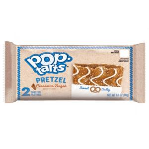 Kelloggs Pop Tarts Pretzel Cinnamon Sugar 96g Pack (2 Pastries Per Pack)
