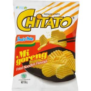 Indomie Chitato Mi Goreng Potato Chips Fried Noodles Flavour 55g