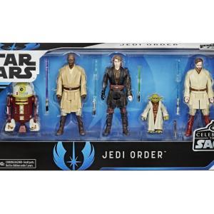 Star Wars Celebrate the Saga Jedi Order Action Figures 5 Set