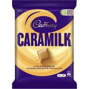 Cadbury Caramilk Chocolate Giant Family Block 315g
