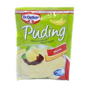 Dr Oetker Banana Pudding Mix Muzlu 150g