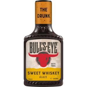 Bulls-Eye The Drunk Sweet Whiskey Glaze BBQ Sauce 300ml