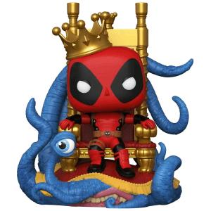Marvel King Deadpool on Throne Metallic US Exclusive Pop! Vinyl