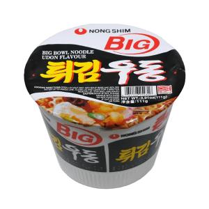 Nongshim Big Bowl Fried Udon Instant Noodles Soup 111g X 8 Cups