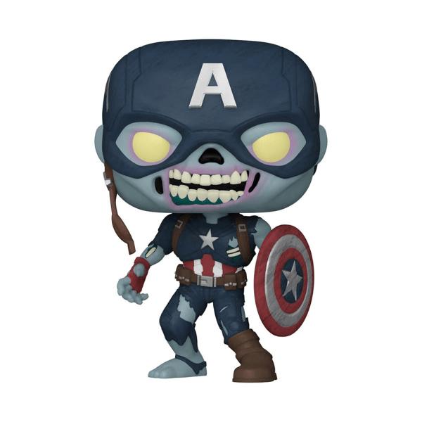 Marvel What If Zombie Captain America Pop! Vinyl Figure [Preorder]